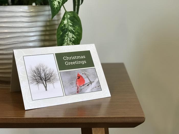 Branded Christmas Card