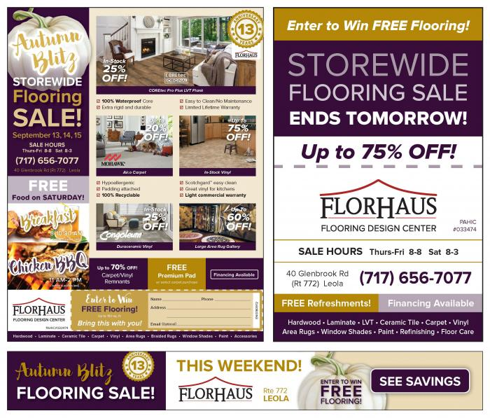 Flor Haus Ad Samples