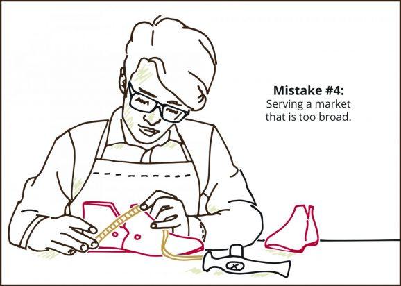 Average Shoe - Mistake #4