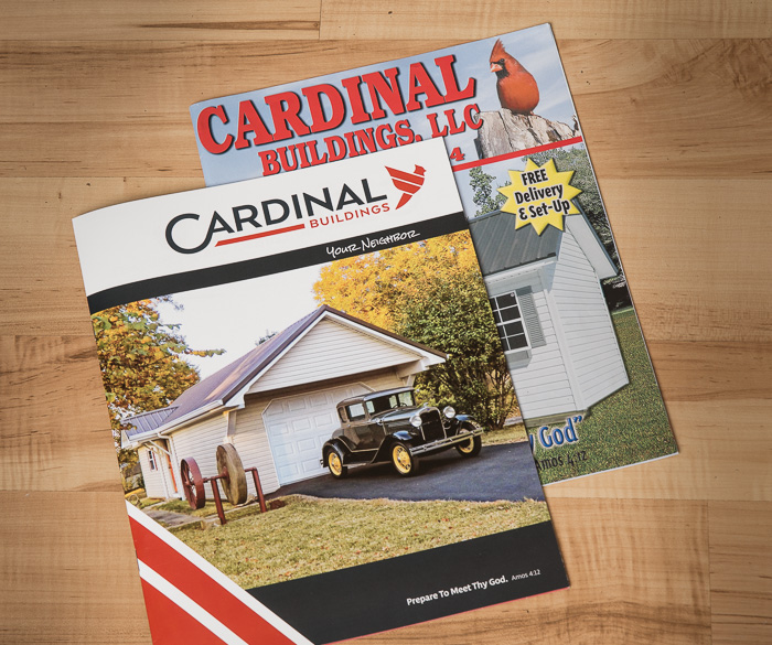 The old and new Cardinal brochures compared